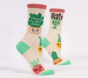 Women's Proud Plant Mom Crew Socks