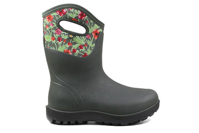 BOGS Women's Neo-Classic Mid Vine Floral Boot - Idaho Mountain Touring