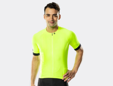 Bontrager Men's Circuit Short Sleeve Cycling Jersey - Idaho Mountain Touring