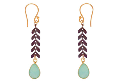 Cascade Drop Earrings - Idaho Mountain Touring