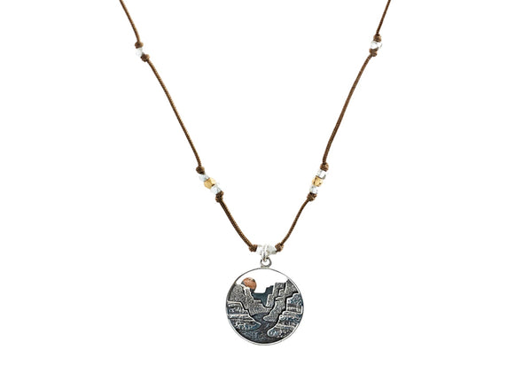 Landscape Necklace - Idaho Mountain Touring