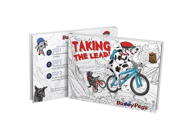 Buddy Pegs Taking The Lead Children's Book - Idaho Mountain Touring