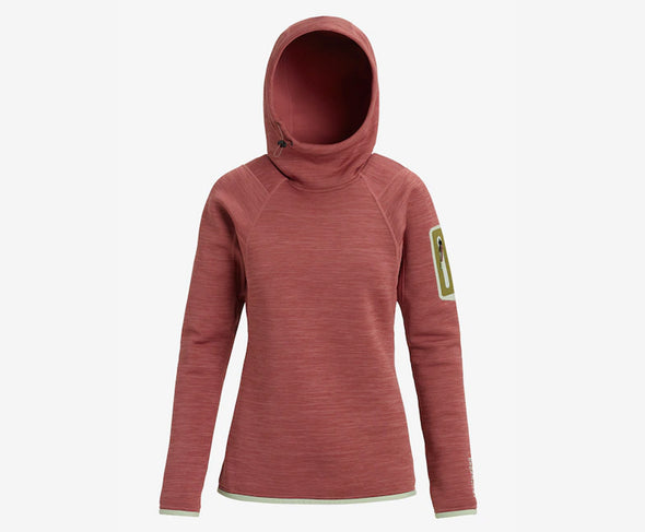 Burton Women's [ak] Turbine Pullover Fleece Hoody - Idaho Mountain Touring