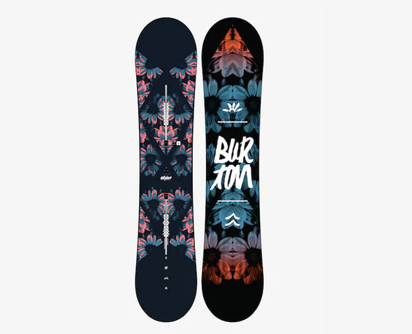 Burton Women's Stylus Flat Top Snowboard - Idaho Mountain Touring