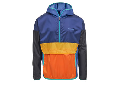 Unisex Teca Windbreaker Half-Zip - Idaho Mountain Touring