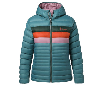 Cotopaxi Women's Fuego Down Hooded Jacket - Idaho Mountain Touring
