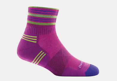 Darn Tough Women's Vertex 1/4 Ultra-Light Cushion Sock - Idaho Mountain Touring