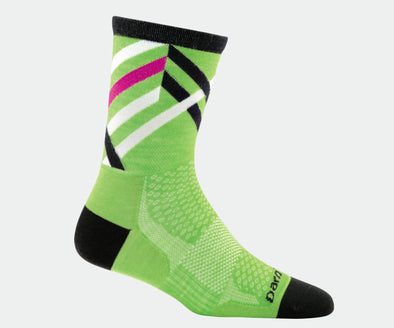 Women's Graphic Stripe Micro Crew Ultra-Light Sock