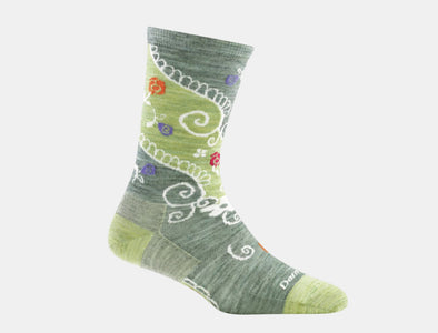 Darn Tough Women's Twisted Garden Crew Light Sock - Idaho Mountain Touring