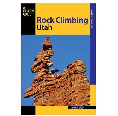 Misc Books and Media Falcon Guide - Rock Climbing Utah - Idaho Mountain Touring