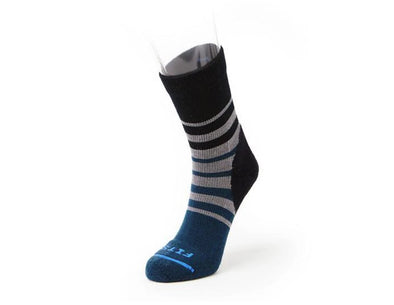 Men's Light Hiker Tri Stripe Mini Crew Sock