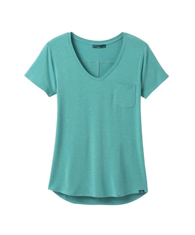 Women's Foundation Short Sleeve V-Neck Top