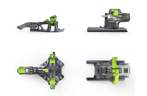 Zed 12 Bindings w/ Leashes