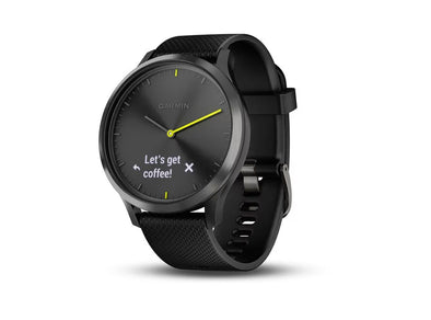 Garmin vivomove HR Hybrid Smartwatch - Idaho Mountain Touring