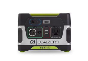 Goal Zero Yeti 150 Portable Power Station - Idaho Mountain Touring
