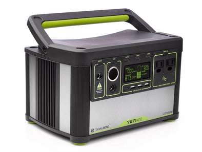 Goal Zero Yeti 400 Lithium Portable Power Station - Idaho Mountain Touring