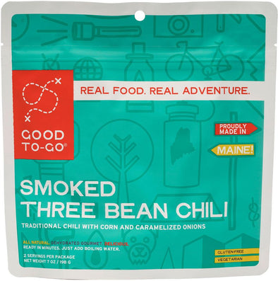 Good To-Go Smoked Three Bean Chili - Idaho Mountain Touring
