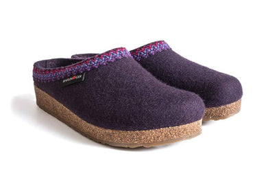Haflinger GZ Zig Zag Wool Clogs - Idaho Mountain Touring