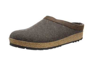Haflinger GZ Leather Trim Wool Clogs - Idaho Mountain Touring