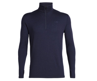 Icebreaker Men's Original Long Sleeve Half Zip - Idaho Mountain Touring