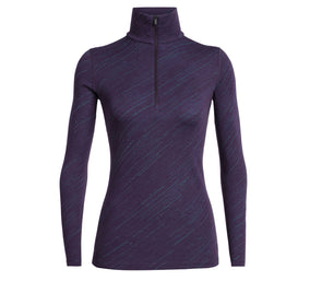 Icebreaker Women's 250 Vertex Long Sleeve Half Zip - Idaho Mountain Touring