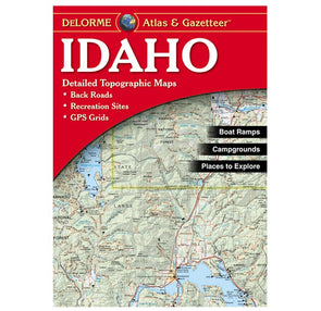 Liberty Mountain Idaho Recreation Atlas - Idaho Mountain Touring