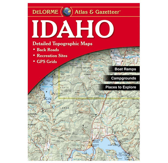 Idaho Recreation Atlas - Idaho Mountain Touring