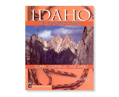 Misc Books and Media Idaho Climbing Guide Book - Idaho Mountain Touring