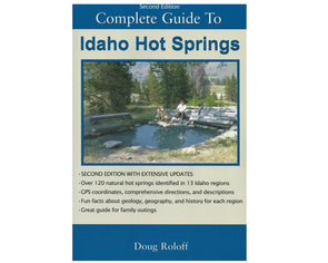 Misc Books and Media Idaho Hot Springs Guide Book 2nd Ed - Idaho Mountain Touring