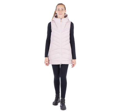 Women's Dolga Sleeveless Long Vest w/ Hood