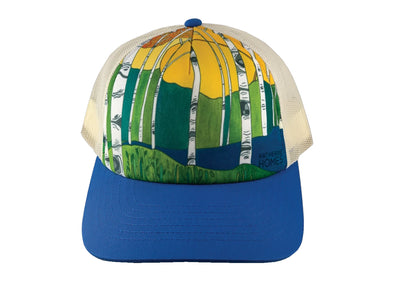 Aspen Trees Trucker Hat