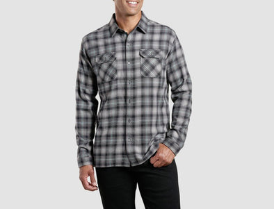 Kuhl Men's Dillingr Long Sleeve Button Front Shirt - Idaho Mountain Touring