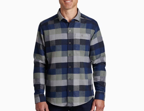 Kuhl Men's Pixelatr Long Sleeve Shirt - Idaho Mountain Touring
