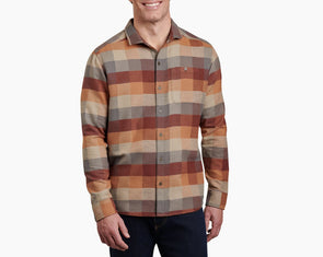 Men's Pixelatr Long Sleeve Shirt - Idaho Mountain Touring