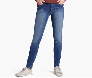 "Kuhl Women's 9"" Kontour Flex Denim Skinny Jean - Idaho Mountain Touring"