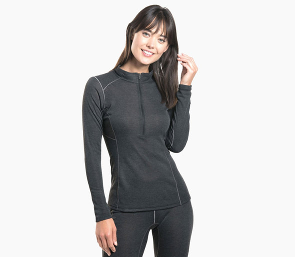Kuhl Women's Akkomplice Zip Neck - Idaho Mountain Touring