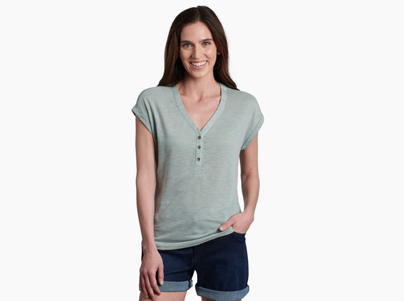 Women's Aryn Short Sleeve Shirt - Idaho Mountain Touring