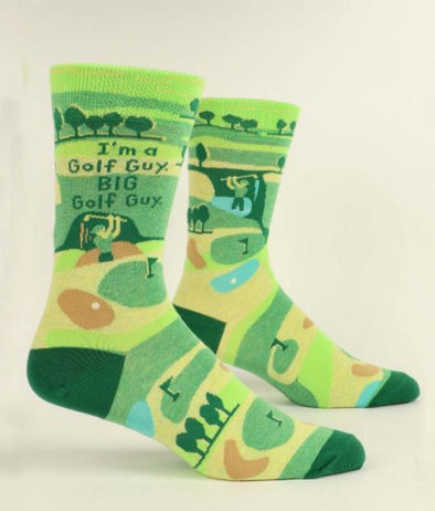 Men's I'm A Golf Guy Crew Sock - Idaho Mountain Touring