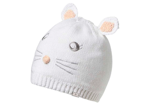 Kooringal Baby Girl's Beanie Bunny White Large (12-24 Months) - Idaho Mountain Touring