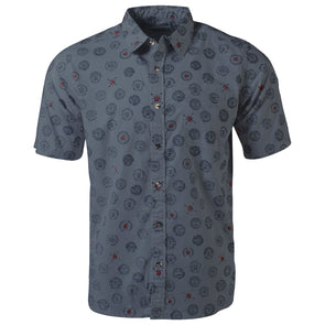Mountain Khakis Men's Benchmark Signature Print Shirt - Idaho Mountain Touring