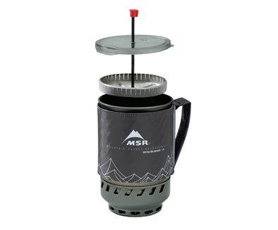 Windburner Coffee Press Kit