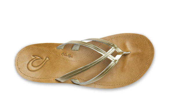 OluKai Women's U'i Leather Beach Sandals - Idaho Mountain Touring