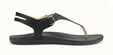 OluKai Women's Eheu Leather Slingback Sandals - Idaho Mountain Touring