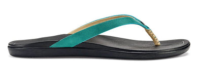 OluKai Women's Ho'opio Leather Beach Sandals - Idaho Mountain Touring
