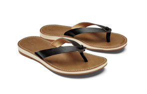 OluKai Women's Leather Beach Sandal - Idaho Mountain Touring
