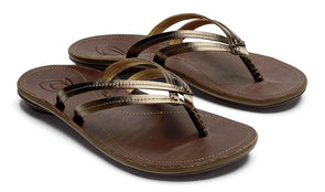 Women's U'i Leather Beach Sandals