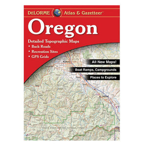 Oregon Recreational Atlas - Idaho Mountain Touring
