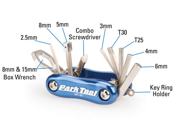 Park Tool MT Series Bicycle Multi-Tools - Idaho Mountain Touring