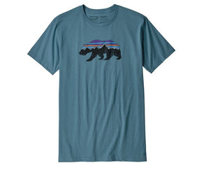 Patagonia Men's Fitz Roy Bear Organic Cotton T-Shirt - Idaho Mountain Touring