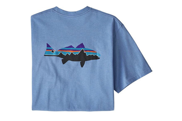 Patagonia Men's Fitz Roy Redfish Responsibili-Tee - Idaho Mountain Touring